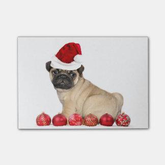 Chien de carlin de Noël Post-it®