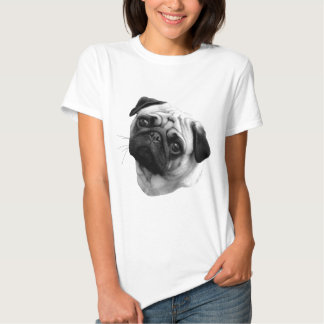 Chien de carlin t-shirt