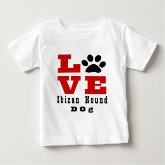 Chien de chasse Designes d'Ibizan d'amour T-shirt Pour Bébé
