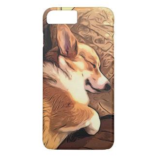 Chien de corgi de Gallois de Pembroke de sommeil Coque iPhone 7 Plus