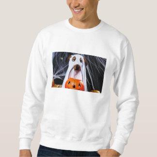 Chien de fantôme - chien drôle - poursuivez sweatshirt