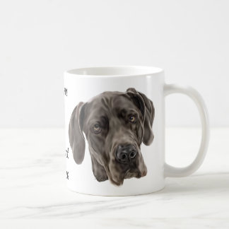Chien de great dane mug
