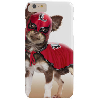 Chien de libre de Lucha, chiwawa drôle, chiwawa Coque iPhone 6 Plus Barely There