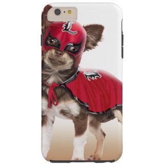 Chien de libre de Lucha, chiwawa drôle, chiwawa Coque Tough iPhone 6 Plus