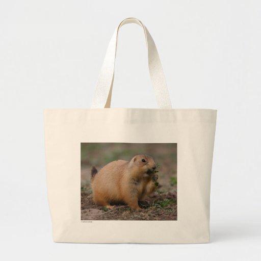 Chien de prairie sacs fourre-tout