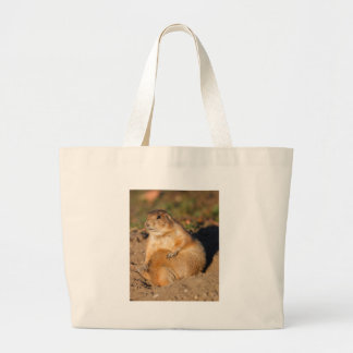 chien de prairie sac de toile