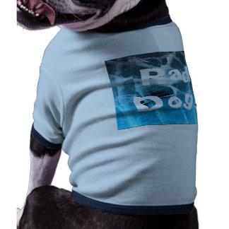 Chien de rad Pièce en t faite sur commande bleue Tee-shirt Pour Animal Domestique
