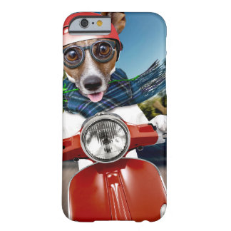 Chien de scooter, cric Russell Coque Barely There iPhone 6