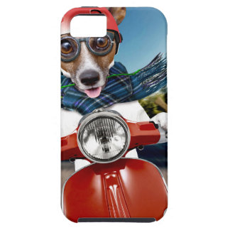 Chien de scooter, cric Russell Coque iPhone 5