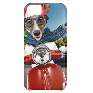 Chien de scooter, cric Russell Coque iPhone 5C