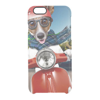 Chien de scooter, cric Russell Coque iPhone 6/6S