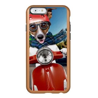 Chien de scooter, cric Russell Coque iPhone 6 Incipio Feather® Shine