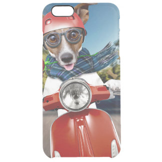 Chien de scooter, cric Russell Coque iPhone 6 Plus