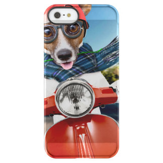 Chien de scooter, cric Russell Coque iPhone Permafrost® SE/5/5s
