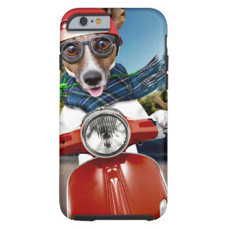Chien de scooter, cric Russell Coque Tough iPhone 6