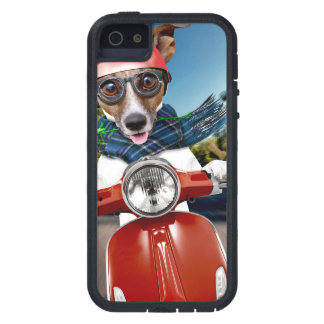 Chien de scooter, cric Russell Coque Tough Xtreme iPhone 5