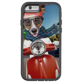 Chien de scooter, cric Russell Coque Tough Xtreme iPhone 6