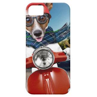 Chien de scooter, cric Russell Étuis iPhone 5