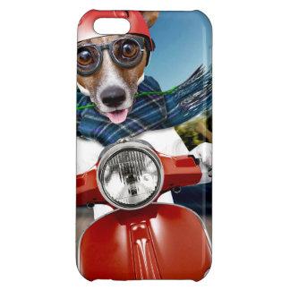 Chien de scooter, cric Russell Étuis iPhone 5C