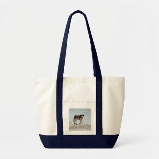 Chien de St Bernard au sac fourre-tout à plage, id