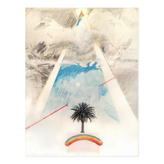 Chien de Sun, Rockne Krebs, 1976. Carte postale