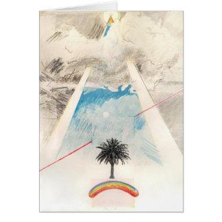 Chien de Sun, Rockne Krebs, 1976. Carte pour notes