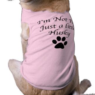 Chien de traîneau drôle t-shirt pour chien