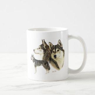 Chien de traîneau sibérien mug