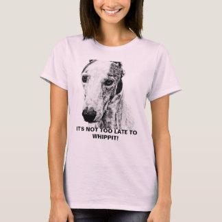 Chien de whippet t-shirt