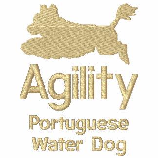 Chien d'eau portugais d'agilité