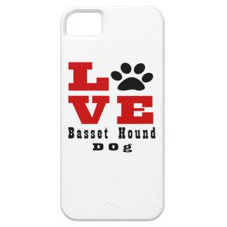 Chien Designes de Basset Hound d'amour Coque iPhone 5 Case-Mate