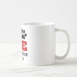 Chien Designes de bouffe de bouffe d'amour Mug