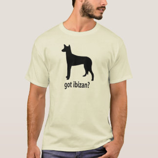 Chien d'Ibizan obtenu T-shirt