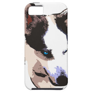 Chien enroué coque tough iPhone 5