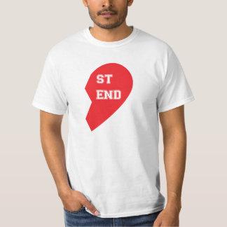 Chien et humain étant assorti de meilleur ami t-shirt