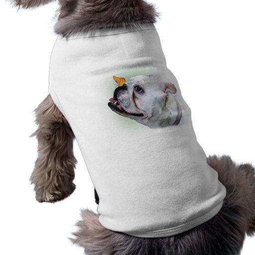 Chien et papillon manteaux pour chien