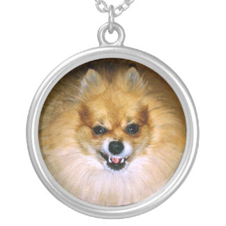 Chien fou Marley Pendentif Rond