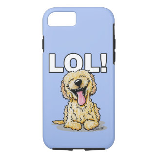 Chien LOL de griffonnage de KiniArt Coque iPhone 7