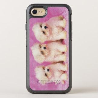 Chien maltais ; est une petite race du chien blanc coque otterbox symmetry pour iPhone 7