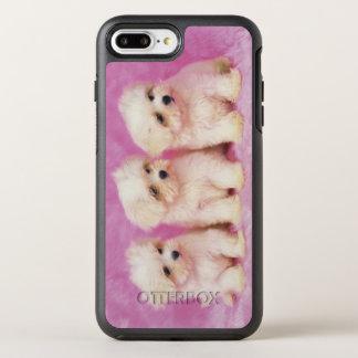 Chien maltais ; est une petite race du chien blanc coque otterbox symmetry pour iPhone 7 plus