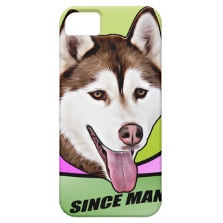 Chien mignon de chien de traîneau sibérien coque iPhone 5 Case-Mate