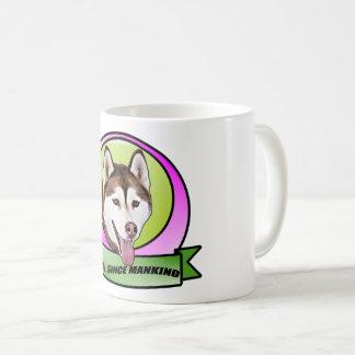 Chien mignon de chien de traîneau sibérien mug