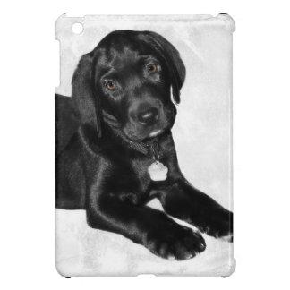 Chien noir de Labrador Coques Pour iPad Mini