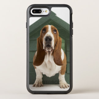 Chien par le chenil coque OtterBox symmetry iPhone 8 plus/7 plus