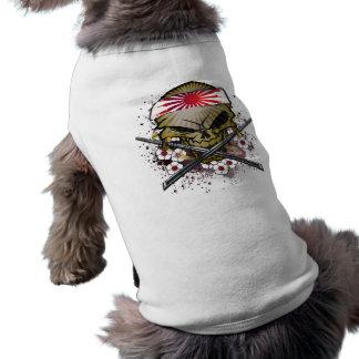 Chien samouraï - chemise d'ANIMAL FAMILIER T-shirt Pour Chien