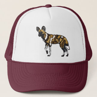 chien sauvage africain casquette
