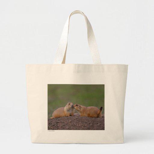 Chiens de prairie sac