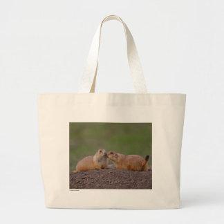 Chiens de prairie sacs en toile