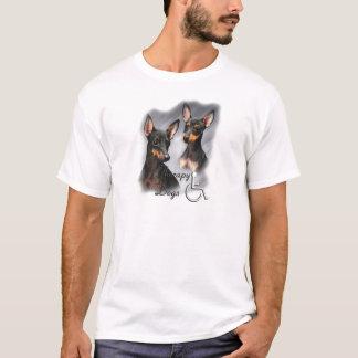 Chiens de thérapie de Manchester Terrier T-shirt