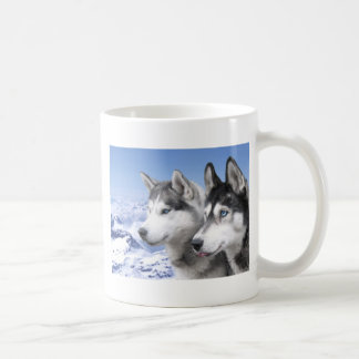 Chiens de traîneau sibériens mug